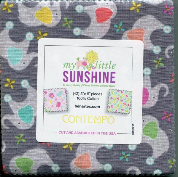 Charm Pack - My little Sunshine