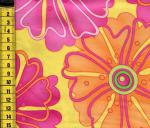 Tiklish - Blumen pink orange