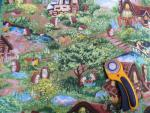 Hedge Hog Village - Igel in Landschaft