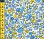 Blooming Chintz - Blumen blau